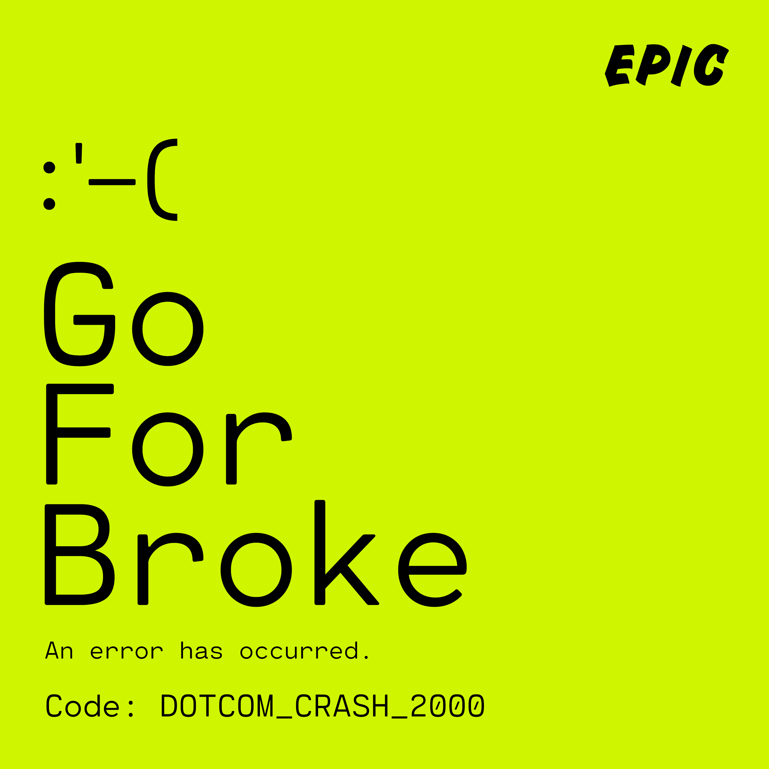 Go For Broke   Tile Art   Crash